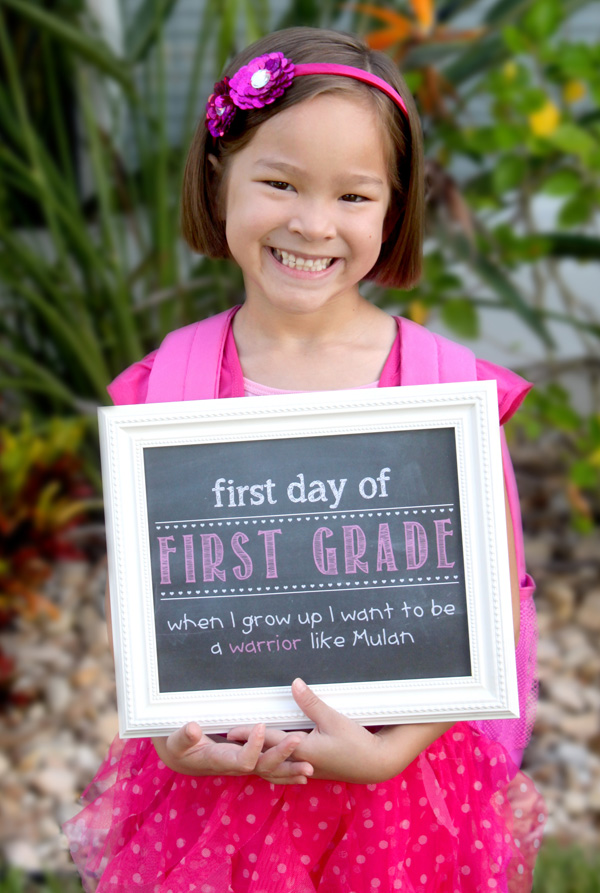 first day of school photo shoot ideas - First Day of School Ideas Family Traditions and