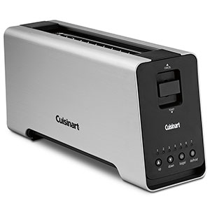 Cuisinart 2 Slice Extruded Aluminum Long Slot Toaster CPT 2000 Review