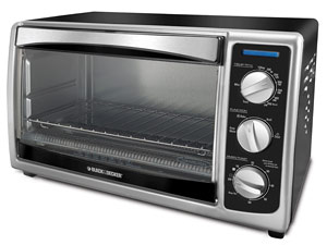 Black & Decker Convection Countertop Toaster Oven TO1675B Review