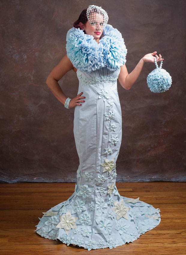 You Ll Never Guess What These Wedding Dresses Are Made Of